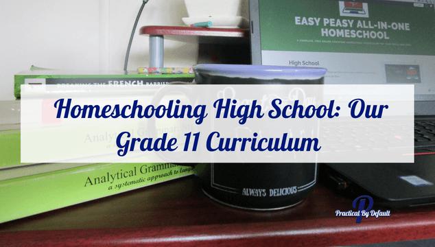 Homeschooling High School: Our Grade 11 Curriculum