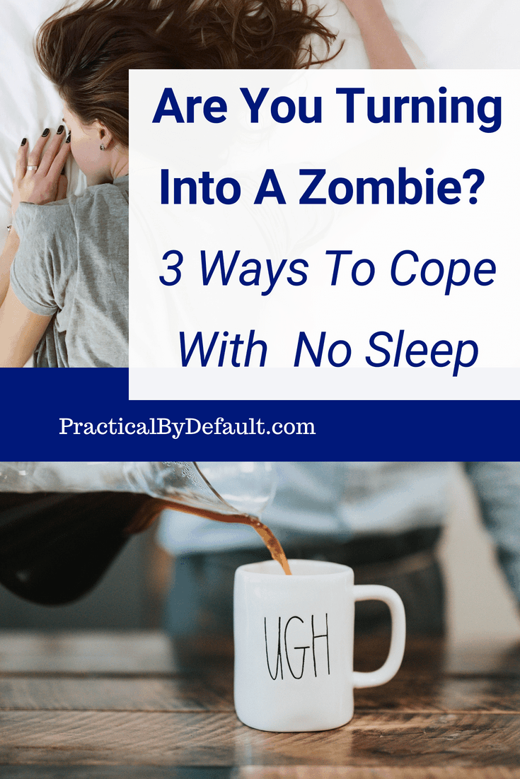Are You Turning Into A Zombie_ 3 Ways To Cope With No Sleep When You Work & Homeschool #homeschoolmom #workingmom