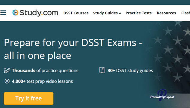 Did you know your child can earn college credits with DSST Exams