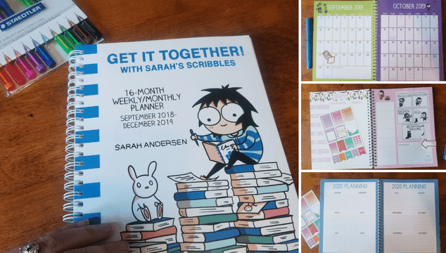 Sarah's scribbles planner for moms