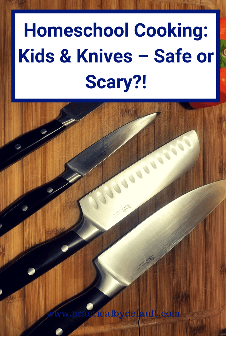 Does the very idea of your child handling sharp knives freak you out? It's never too late to teach your kids knife and safety skills.