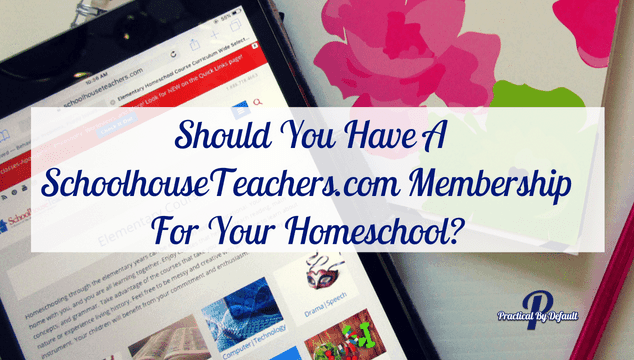 Schoolhouseteachers is an online homeschooling program for all ages.