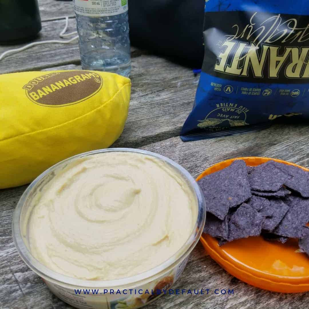 great snacks for camping for kids