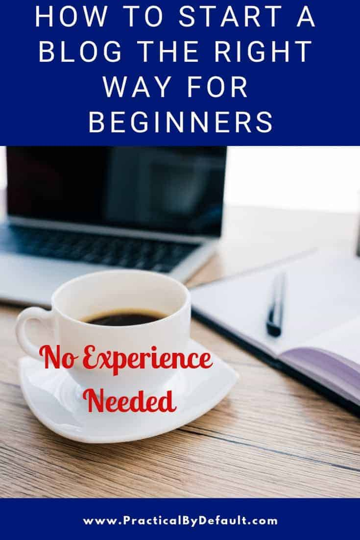Learn how to start a blog from scratch