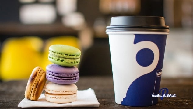 macrons and coffee ideal reader