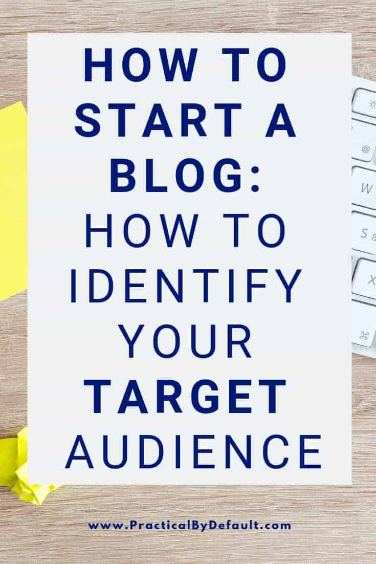 Before you start creating content you MUST know who your target audience is and what they need. This is key component for growing a successful blog.