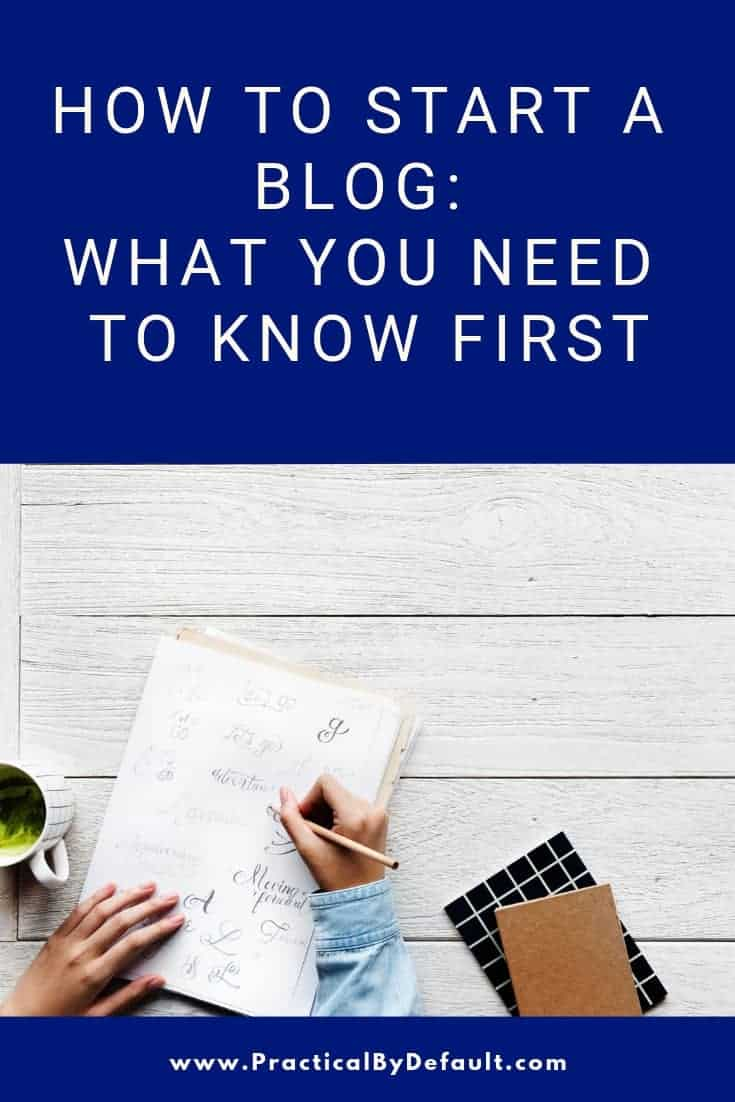 Are you wondering exactly what is required to start a blog? Before you dig into the technical side make sure you cover the requirements and foundation,  first!