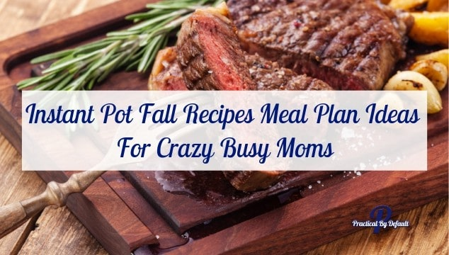 17 Instant Pot Fall Recipes Meal Plan Ideas For Crazy Busy Moms