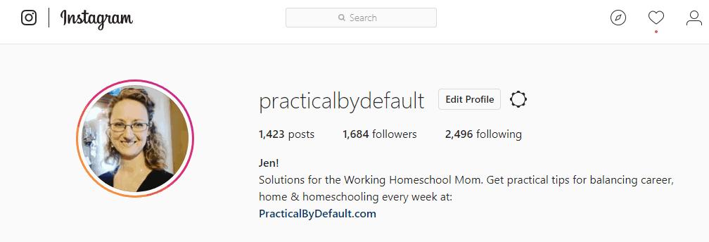 set up your Social profiles