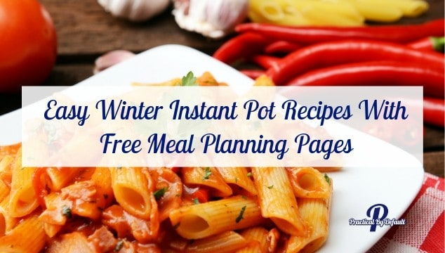 WITH FREE MEAL PLANNING PAGES