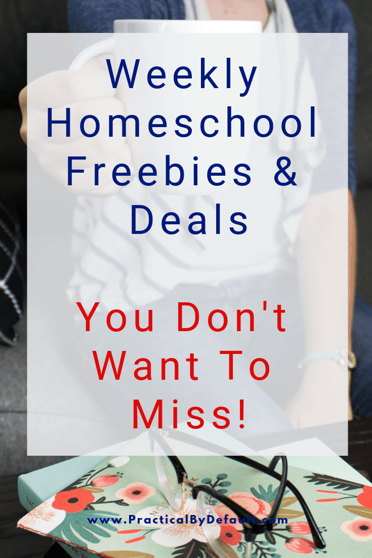 Weekly Homeschool Freebies & Deals You Don't Want To Miss! #homeschool