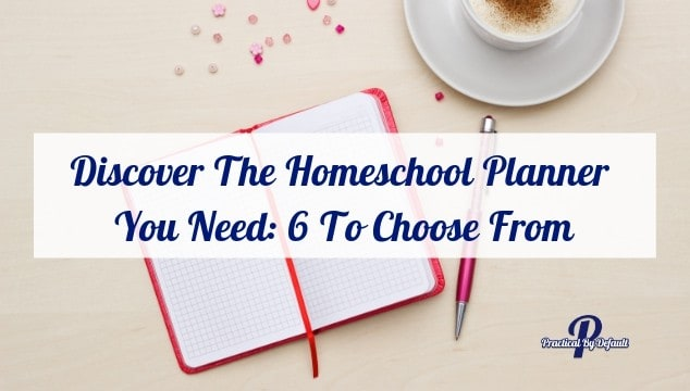 Discover The Homeschool Planner You Need: 6 To Choose From