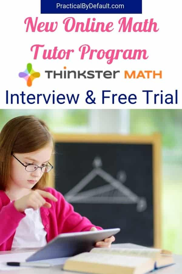 Does the very idea of trying to teach your kid Math scare the pants off you? Thinkster Math might be the answer for you! Check out the Q & A and grab the free trial!