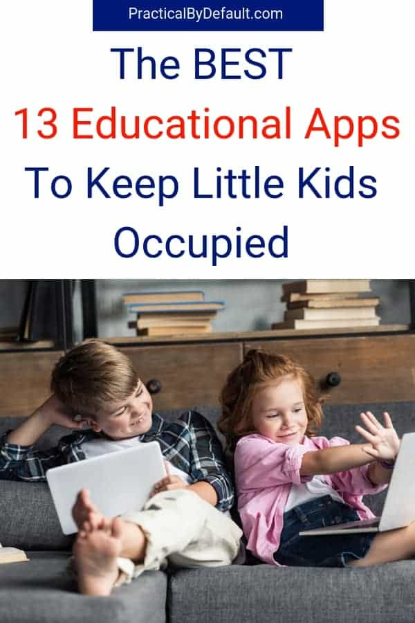 Are you homeschooling multiple ages? Use these 13 educational apps as your secret weapon. Get the list! #homeschool #education