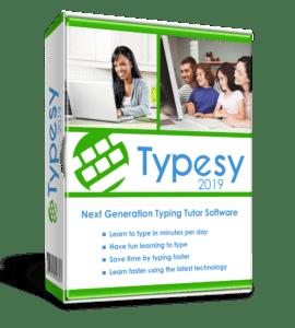 Typing program for homeschooling