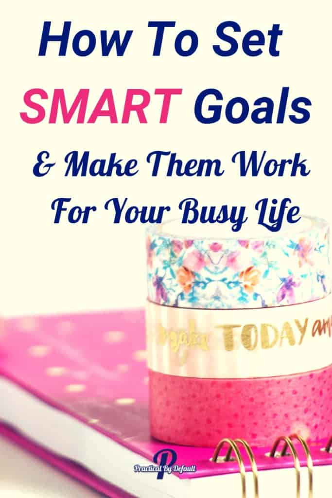 Do you ever feel setting goals is a long, drawn out process? Use SMART Goals instead. A simple, totally doable goal setting system and start reaching your goals today!