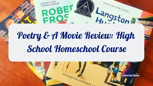 Teaching poetry in high school can be as easy as having the right tools to help you get the job done! Check out this online high school homeschool course Poetry & A Movie.