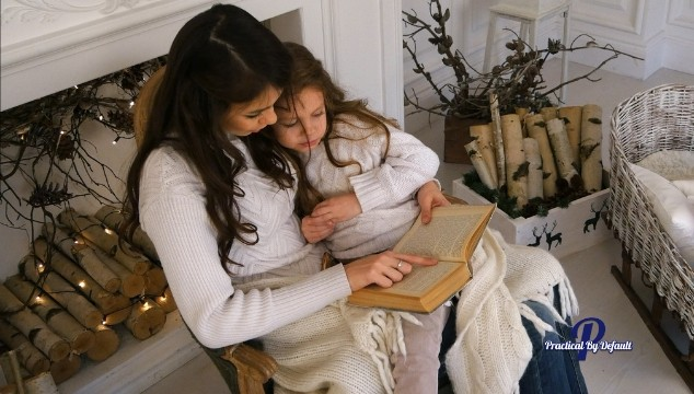 Reading to your child allows you to connect and spend one on one time with them daily.