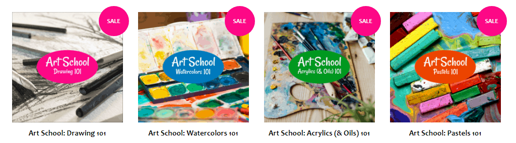 Art School for older kids and teens